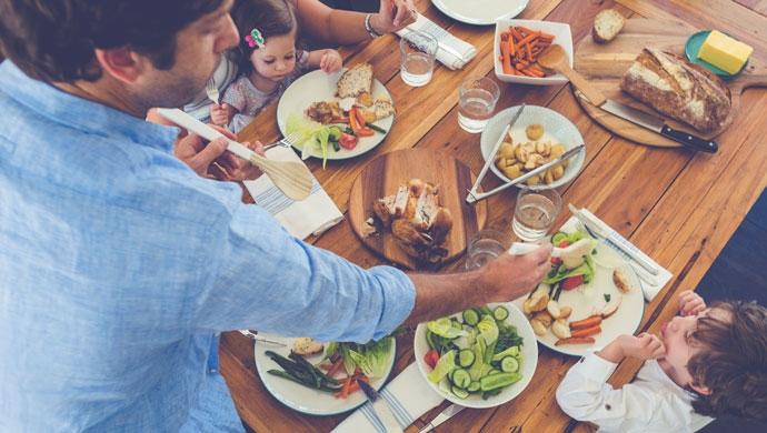 Métele color a la comida durante estos días familiares - Compartir en Familia
