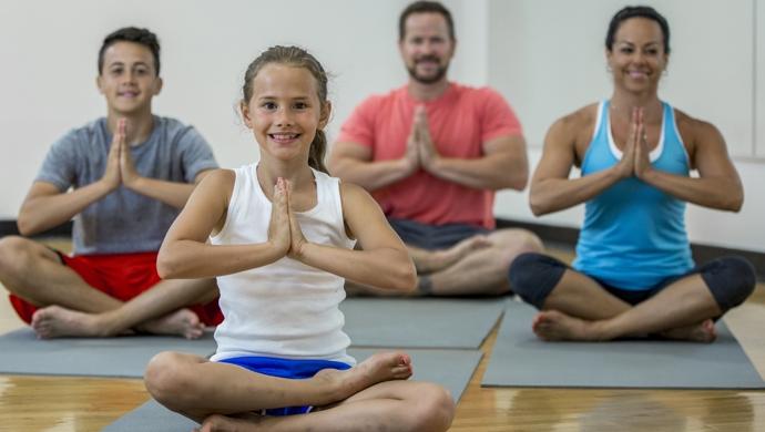 Yoga para toda la familia - Compartir en Familia