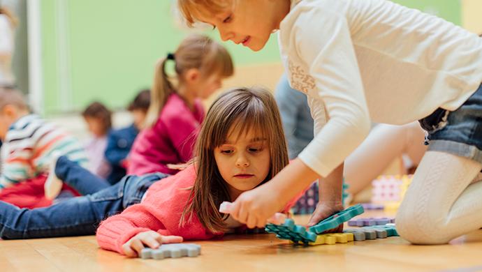 Juguetes educativos en clase - Compartir en Familia
