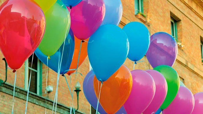 Diversión con globos - Compartir en Familia