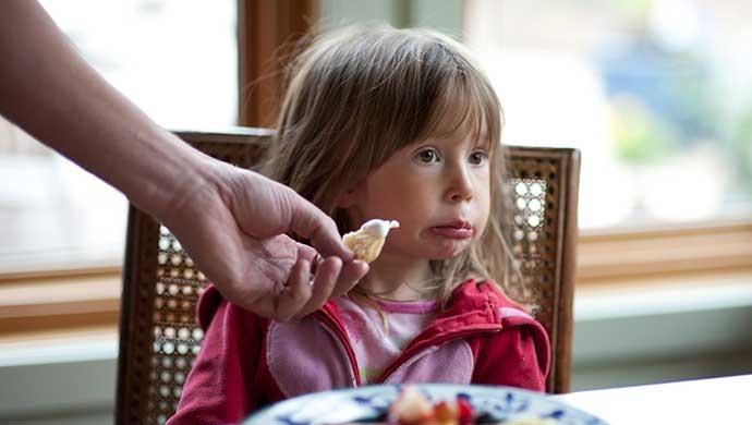 La comida no es un castigo - Compartir en Familia