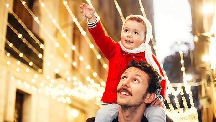 6 consejos para involucrar en tus hijos el espíritu navideño - Compartir en Familia