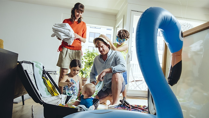 Tips para viajar en familia - Compartir en Familia