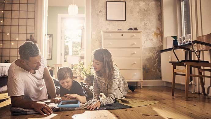 Apps para usar en familia y estimular a tu hijo