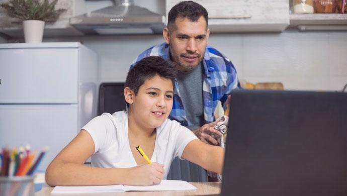 La escuela en casa: Santillana ayuda a trabajar en remoto, a través de sus plataformas de aprendizaje  - Compartir en Familia