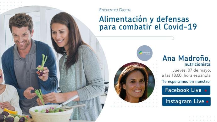 Alimentación y defensas para combatir el Covid-19 - Compartir en Familia