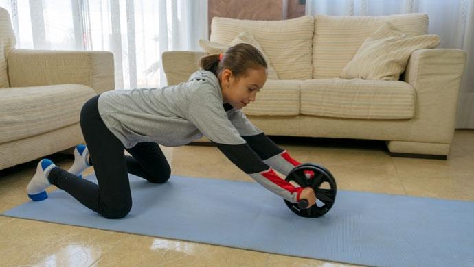 Entrenamiento de fuerza, esencial para niñas y niños - Compartir en Familia